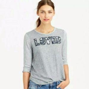 "J. Crew ""Loved"" 3/4 Sleeve Shirt – S"
